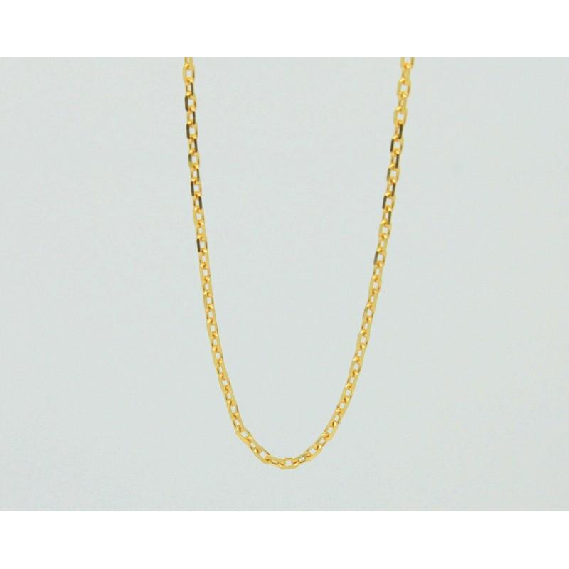 d798531e37af5 Corrente Cartier Redonda Fina 60 cm Ouro 18k JSP0537